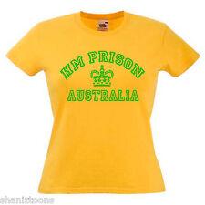 HM Prison Australia Ladies Womens Lady Fit T Shirt