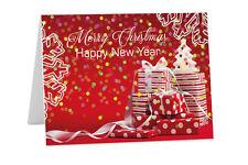 Personnalisé Noël Nouvel An Corporate Logo De Société Famille Cartes de voeux c12