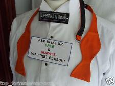 ORANGE Self-tie Bow tie-Step By Step Instruction-The More U Buy>>  More £ U Save