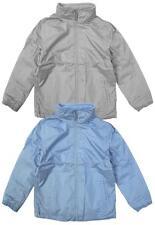 Girls Kids Boys Jacket Unisex Fleece Lined Showerproof Hooded Coat 5 to 8 Years