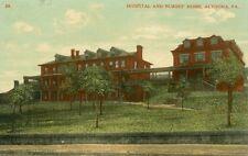 Altoona,PA.  Hospital and Nurses Home   1908