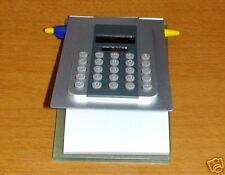 CALCOLATRICE dual power(Solar/batt)8 cifre + bloc-notes