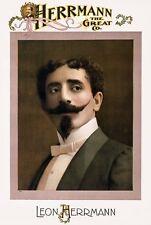 M72 Vintage 1898 Herrmann der große Zauberer Magic Poster erneut drucken A1/A2/A3/A4