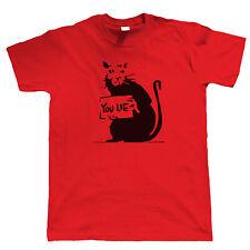 Banksy Rat You Lie T-Shirt - Graffiti Urban Art Political Offensive