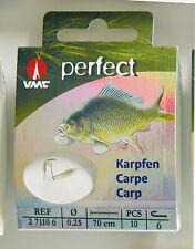 VMC Perfect geb. Karpfen Karpfenhaken Boiliehaken Teighaken Maishaken Carp Hook
