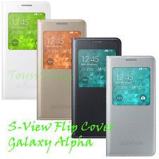 Samsung Original EF-CG850 Flip Case Galaxy Alpha G850F,Etui,Tasche,Cover