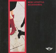 Mini Lifestyle Accessoires Katalog 2001 Prospekt brochure Auto PKWs Autoprospekt