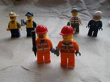 COPPIA di nuove LEGO MINIFIGURES LEGO CITY, L'ACQUA DELLA POLIZIA COSTRUZIONI PICK 1 u vogliono