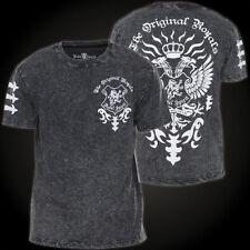Rebel Spirit T-Shirt SSK151765 Schwarz