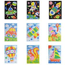 DIY Kits Kids Game  EVA Foam  drawing toys 3D Mosaics Puzzle  Stickers