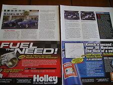 2006 CARROLL SHELBY MUSTANG  ***ORIGINAL ARTICLE***