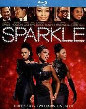 Sparkle [Blu-ray] by Jordin Sparks, Whitney Houston Ex-library