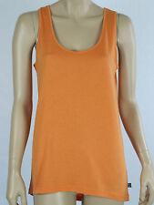 Jethro & Jackson Ladies Pyjama Singlet Tank Top sizes 10 12 16 Colour Orange