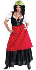Tavern Wench GYPSY Costume Shirt Skirt Apron Adult Lady Large 12 14 Renaissance