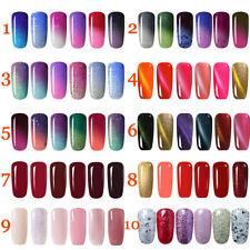Gellack Farbwechsel UV Gel Polish Thermo Nagellack Magnetisch Hot 6x Gel Nails