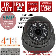 Cctv Cámara 5MP Domo 1960P HD TVI 2.8-12MM Varifocal 50M Visión Nocturna IR Cut HD