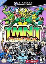 TMNT Mutant Melee (Nintendo GameCube, 2005) Complete
