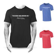 Muhammad Ali Make Medicine Sick Quote Premium T-shirt Boxing