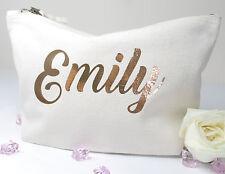 Personalised Make Up/Wash Bag ANY Name Birthday Christmas Gift Present Kids
