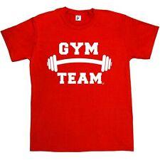 Gym Team Weights Motivational Training Mens T-Shirt