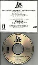 TORI AMOS & TOM JONES I wanna get back & Situation EXTEND ERASURE TRK PROMO CD