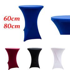 Spandex lycra table cocktail topper 60 cm-07 couleurs événements confrences mariages