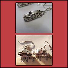 drive road trip earrings choice of 2, Cars mini 3D Vw or sedan car, Citroen