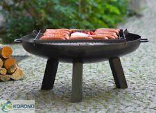 Korono Grill Holzkohlegrill  Standgrill Gartengrill mit Feuerschale+ Rost