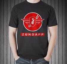 Zuendapp Vintage Classic German Motorcycle Zundapp Patch Black T-shirt Size S-5X