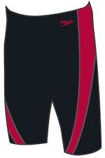 Speedo Lepa Jammer Black/China Red Endurance Plus