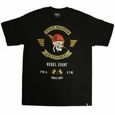 Rebel8 Attack Squadron Executioners T-shirt Black