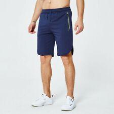 66233d84aaa6 Uomo Sport Pantaloncini Sportivi Palestra Corsa Workout Tasche con Zip  Pantaloni
