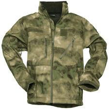 Mil-Tec Tactical Softshell Jacket SCU 14 Army Patrol Mens Coat Hood MIL-TACS FG