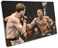Rashad Evans MMA Sports SINGLE CANVAS WALL ART Picture Print VA