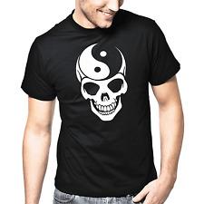 Yin Yang Skull | Totenkopf | Asia | Chinese | Style | Design | S-XXL T-Shirt