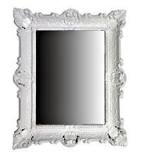 Wall Mirror White Antique Baroque Bathroom Floor Vanity 56x46 1