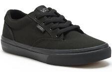 Vans Boys' Winston Black / Black Skate Shoes - Sizes 1/2//3/4/6/7