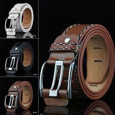 New Men Retro PU Waistband Waist Accessories Business Leather Belt Fashion Gift