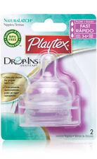 PLAYTEX Baby Bottle capezzoli / NIPPLI (Silicone)