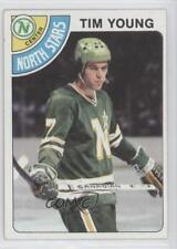 1978-79 Topps #138 Tim Young Minnesota North Stars Hockey Card