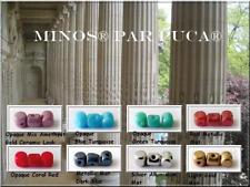 Elige color! 60 un. Minos ® par Puca Cuentas checas de vidrio prensado 2.5x3mm,