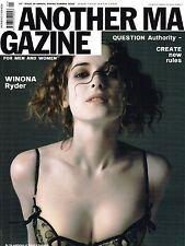 AnOther Magazine #10 WINONA RYDER Anouck Lepere ISABELI FONTANA Natasha Poly