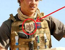 Prince Harry in AFGHAN burdock PATCH: Guard Battalion (Vahipataljon) of Estonia