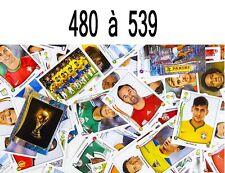 Sticker PANINI FIFA 2014 coupe du monde -  480  à 539   Brazil 2014