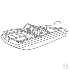 Glastron T -159 161 XL O/B trailerable boat cover 1977-85 Grey