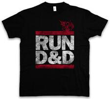 Run d&d T-Shirt Fun Run DMC Dungeons & pen and paper Dragons RPG Gioco di ruolo