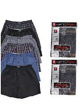 3 6 12 Men knocker boxer Plaid Shorts Underwear pairs    Size S-3XL 7.45-27.75