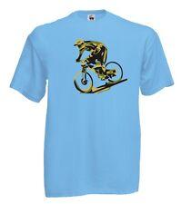 T-Shirt Sport J570 Bikers Mountain Bike Bici Bicicletta Sport Pedalata Fatica