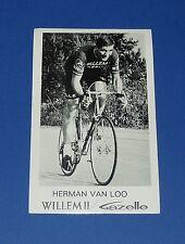PHOTO CYCLISME 1968 EQUIPE WILLEM II GAZELLE H. VAN LOO WIELRENNEN WIELRIJDER