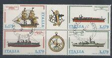 1978 ITALIA USATO NAVI BLOCCO - 2